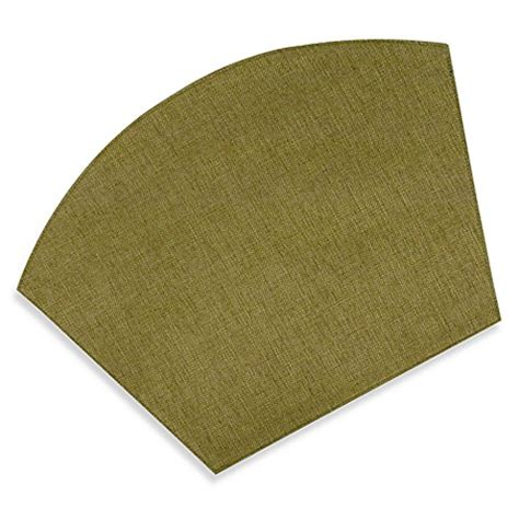 buy basketweave wedge placemat from bed bath beyond