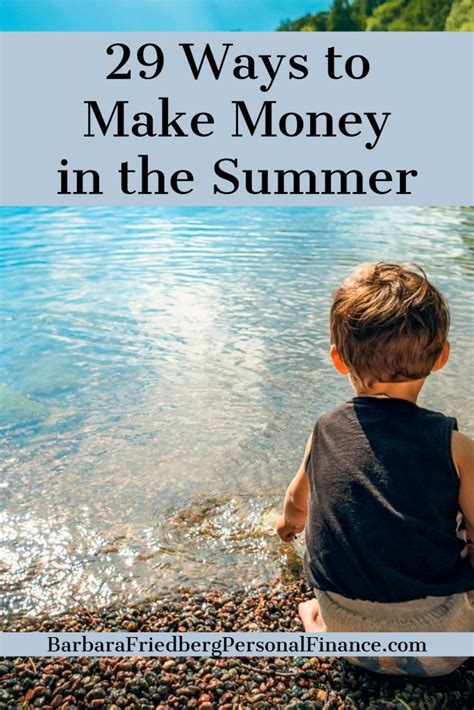Cool Ways To In Summer by 29 Ways To Make Money This Summer