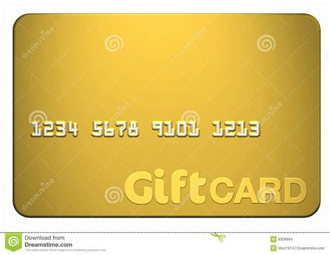 Gift Card Images Stock - gold gift card stock images image 8308664