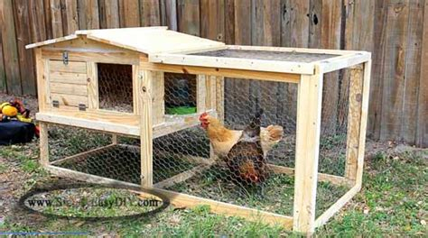 Small Backyard Chicken Coops 18 Amazing Diy Chicken Coop Projects