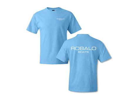 robalo boats ebay robalo boats aquatic blue short sleeve 100 cotton t shirt