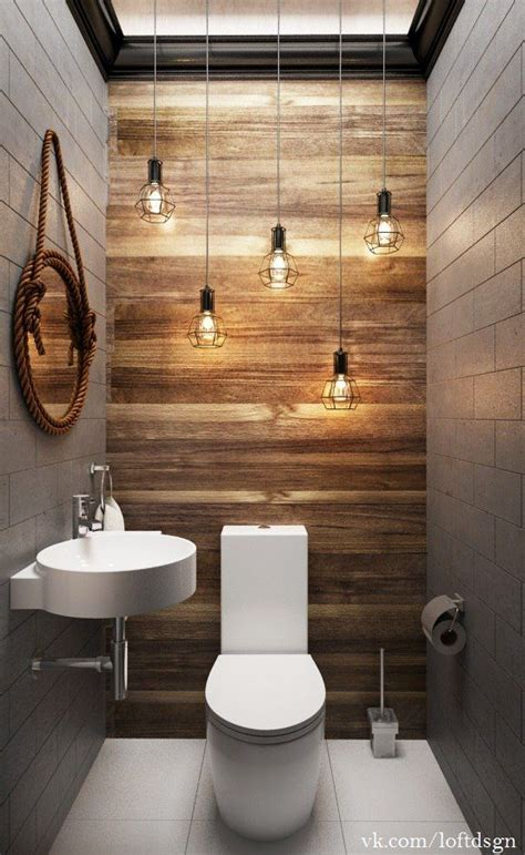 restaurant bathroom design toilettes d 233 coration oules suspendues bois et