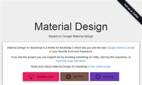 bootstrap themes material design 6 best bootstrap material design themes and ui kits for