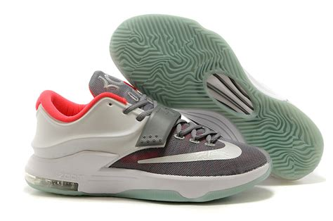 kevin durant basketball shoes nike kevin durant kd 7 basketball shoes wolf grey