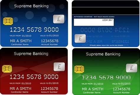 bfgi bank credit card template bank cards vector free