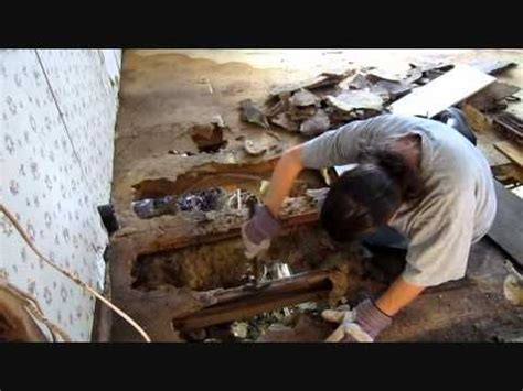 mobile home floor repair mobile home renovations