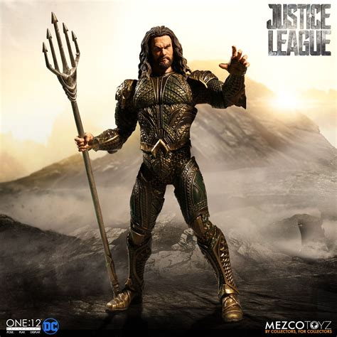 justice league film order infinite earths mezco justice league movie aquaman up for