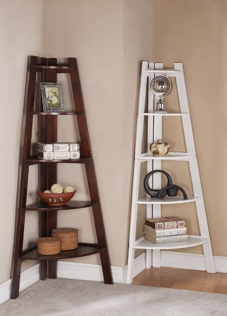 corner shelf contemporary display and wall shelves