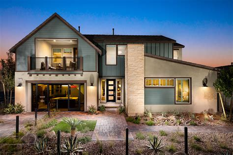 modern farmhouse elevations keystone floor plan 3 4 5 beds 3 5 4 5 baths las vegas
