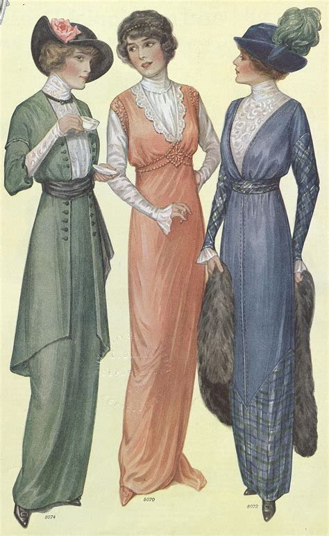 styles of 1914 1914 women s fashion source ladies home journal