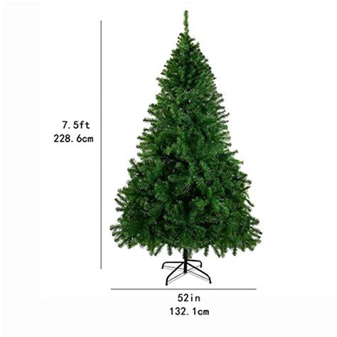easy assemble christmas tree 7 5 premium trees pin tree durable easy assembly artificial with ebay