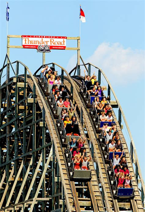 Carowinds Employment Office by Carowinds To Retire Thunder Road Wbfj Fm