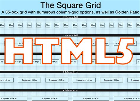 fluid grid layout html5 square grid theme drupal org