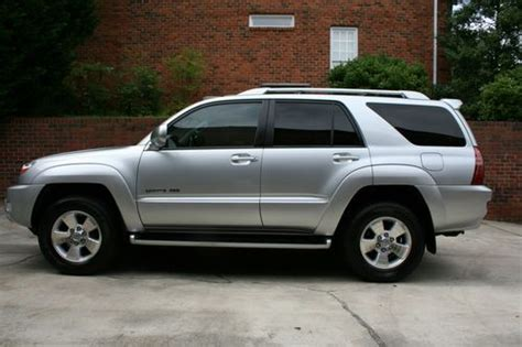 Toyota 2004 Mpg Sell Used 2004 Toyota 4runner Limited 4wd V8 With Low