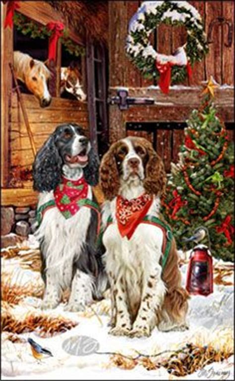159 best images about christmas margaret sweeney dog art