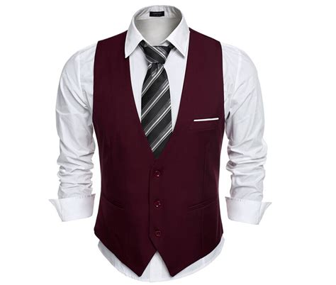 Vest Casual vests for slim fit suit vest waistcoat gilet homme casual sleeveless formal business
