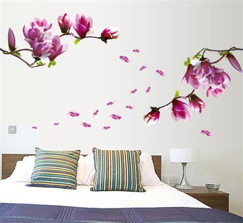 Wallstickers 50x70cm High Single Flower high quality one luxury flower 150 55cm bed room wall vinyl decal diy home decor