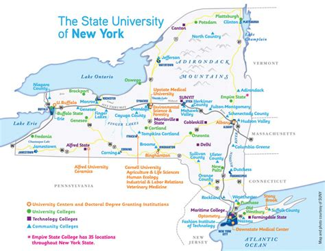 New York Mba Colleges List by State Of New York Ny Knowledge Site Selecton