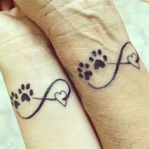 tattoo infinity animal matching tattoos with mum infinity love for eachother and