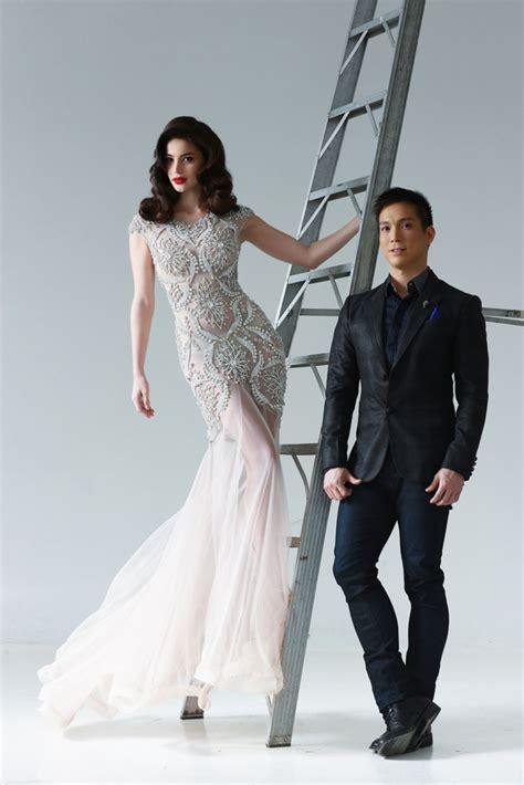 by francis libiran wedding gown bn bridal designer alert francis libiran bellanaija
