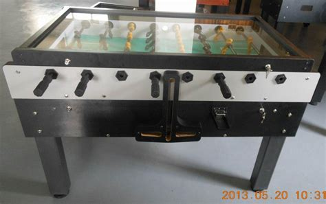 coin operated foosball table with c end 12 18 2016 2 22 pm