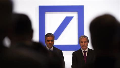 börsenkurs deutsche bank quot jedes wort ist wichtig quot deutsche bank chef jain gesteht
