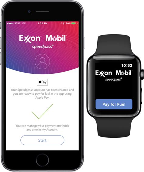 exxon mobile app exxon mobil speedpass lets you pay at the watchaware