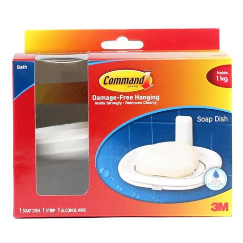 command bathroom products 3m command bath soap dish 17622b bathroom accessories