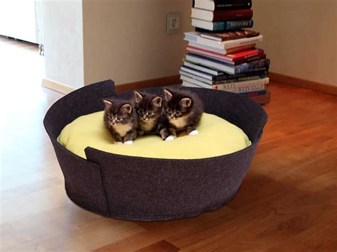 luxury cat beds luxury lido felt cat bed chelsea cats