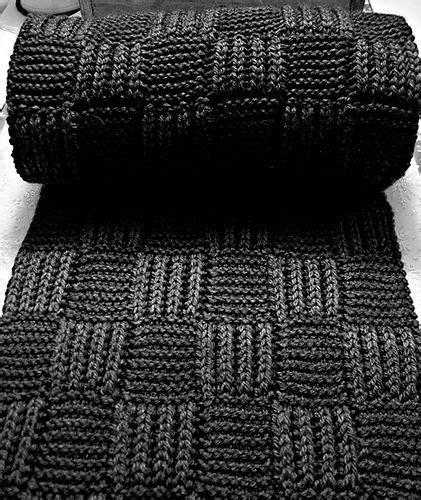 Knitting Pattern Checkerboard Scarf | checkerboard scarf by phazelia knit or crochet pinterest