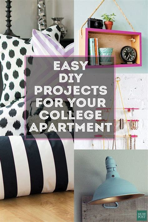 diy projects for college apartments cheap diy college apartment decorating ideas
