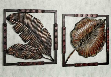 metal art decor for home tropical metal art decor tropical bird fish and sun wall