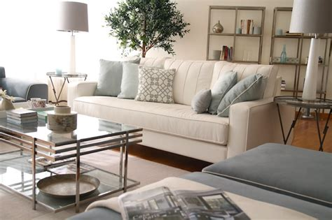 cream couch decorating ideas glass coffee table transitional living room ana antunes