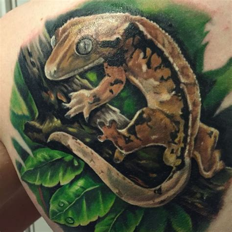 harlequin tattoo inspired by the gecko quot tabernacle quot from the harlequin