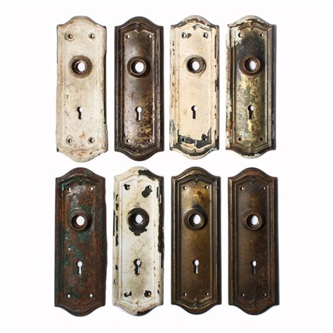 Door Backplates by Superb Antique Door Backplates With Arches Ndp135 Rw For