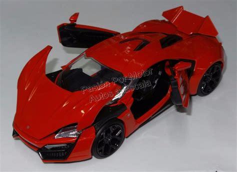 124 Lykan Hyper Sport 1 24 lykan hypersport rojo rapido y furioso display 405 00 en mercado libre