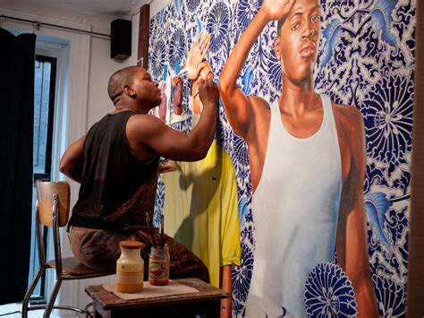 paint with a twist college station slideshow painter kehinde wiley s radical twist on