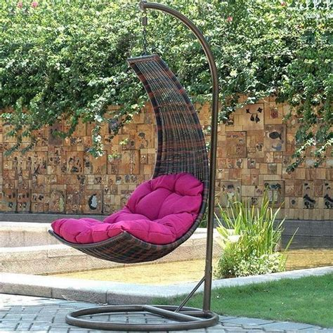 swinging chairs outdoor hanging egg chair outdoor