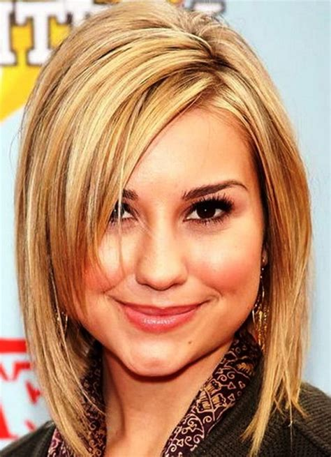 medium length hairstyles for fat faces medium haircuts for fat faces
