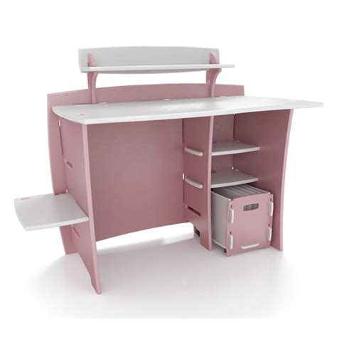desk pink beautiful pink decoration