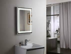 vanity bathroom mirror budapest lighted vanity mirror led bathroom mirror