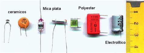 que es un capacitor mylar electronicos sv componentes electr 243 nicos comunes