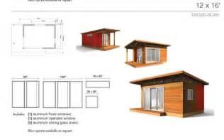 little house plans kit denny modern shed roof cabin plans
