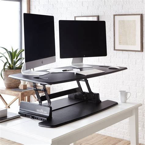 varidesk pro desk 48 standing desk products varidesk sit to stand desks