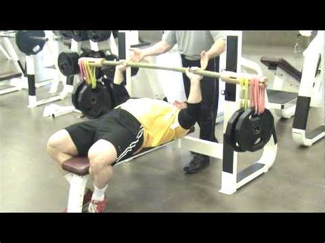 bamboo bar bench press youtube