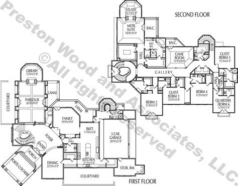 Estate House Plans by Two Story Home Plan Ac5030 ѧ ʀ C н Pinterest