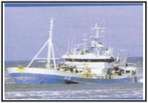 un barco pesquero ha conseguido 9100 oannes se 241 or de las olas