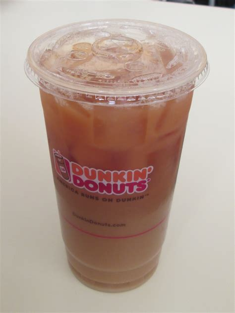 Iced Coffee Dunkin Donuts brown sugar cinnamon iced coffee dunkin donuts