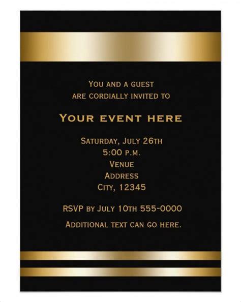 62 Printable Dinner Invitation Templates Psd Ai Word Free Premium Templates Corporate Invitations Free Templates