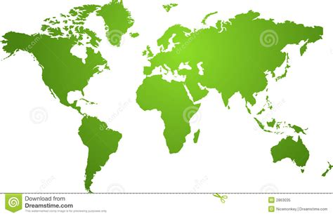 all the world is green world map green stock vector image of background